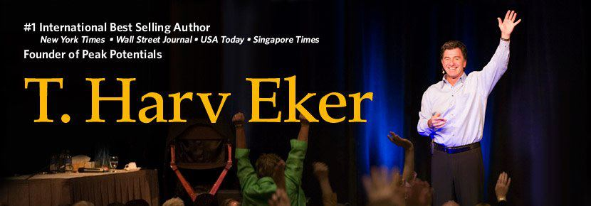 T Harv Eker Ultimate Destiny Hall of Fame Award Recipient Header